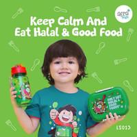 Lunch Box Set / Kotak Makan / Tempat Makan Anak / Lunch Set Afrakids