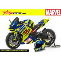 Decal stiker CBR250RR HJC RPha Wolverine