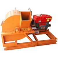 Mesin Wood Crusher - Alat Penghancur Kayu