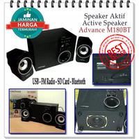 SPEAKER ADVANCE M180BT BLUETOOTH / FM SUBWOOFER SYSTEM M180 BT