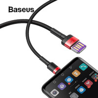 BASEUS Cafule 40W HUAWEI Type C Fast Charging Kabel Data Super Charge