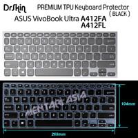 Keyboard Protector ASUS VivoBook Ultra A412FA - DrSkin PREMIUM BLACK