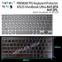 Keyboard Protector ASUS VivoBook Ultra A412FA -KAKAY Premium TPU Clear
