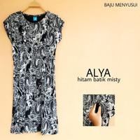 MAMIGAYA Nursing Wear - Alya | Baju Menyusui | Baju ASI