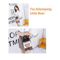 PU05 Tas Selempang Wanita Little Bear Bag Import