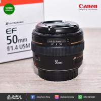 Secondhand - Canon Ef 50mm f1.4 USM - 6144 - Gudang Kamera Malang