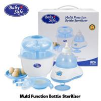 BABY SAFE MULTI FUNCTION STERILIZER 8in1 Botol Masak Telor + Juicer