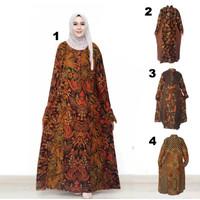 Gamis Muslim Batik I Busana Muslim Wanita Gamis Batik Syar'i Amita