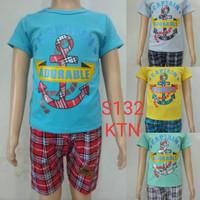 fashion baju setelan anak laki/cowok anchor