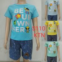 fashion baju setelan anak laki/cowok hero