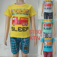 fashion baju setelan anak laki/cowok sleep