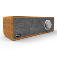 Smalody Wooden Bluetooth Speaker Stereo Soundbar - SL-50