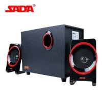 SADA SL-8018 Speaker Stereo 2.1 Wood with Subwoofer & USB Power