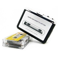Konverter Kaset Tape USB Cassette Capture MP3 Player - EZCAP