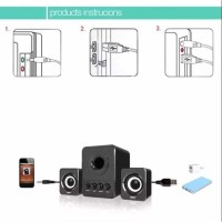 Speaker Stereo 2.1 with Subwoofer & USB Power PROMO