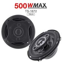 Speaker Subwoofer Mobil 6 Inch Hi Fi 500W 2PCS - TS-1672