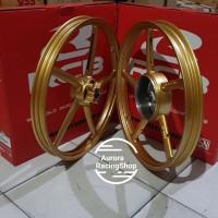 Velg Racing RCB Mio - Fino Set 17 x 120 /140 - SP 522 Gold