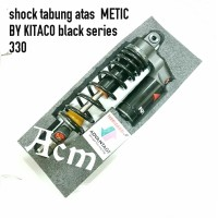 Shock tabung KITACO Black series 330MM HONDA VARIO 125 150 OLD NEW