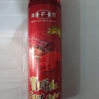 makanan ikan louhan parrot HAI FENG 235 gr uk pellet 1 mm small