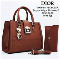 Tas wanita di*r victoria tas wanita import tas wanita murah new