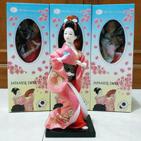 Boneka Geisha Jepang 25.5 cm K