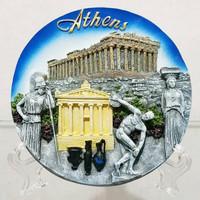 Piring Timbul Athens Yunani