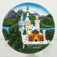Piring Timbul Jerman Neuschwanstein
