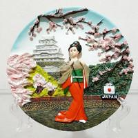Piring Timbul Jepang Cewe Sakura