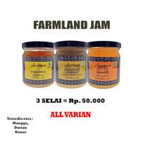 Fruit Farmland Jam Selai Buah Farmland Nanas Durian Mangga
