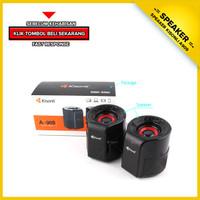 SPEAKER MINI USB PORTABLE KISONLI A909 SUPER BASS TERMURAH