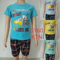 fashion baju setelan anak laki/cowok tractor
