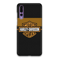 Harley Davidson Logo 02 Hard Case Cover For Huawei P20 Pro