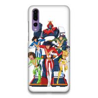 Indocustomcase Gundam Hard Case Cover For Huawei P20 Pro