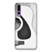 Indocustomcase Guitar SC Hard Case Cover For Huawei P20 Pro