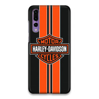 Harley Davidson Logo 01 Hard Case Cover For Huawei P20 Pro