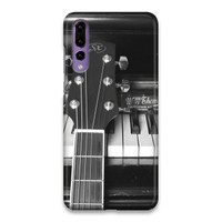 Indocustomcase Guitar On Piano Hard Case Cover For Huawei P20 Pro