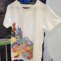 """Kaos Uniqlo x Pokemon """"UGPT"""" size M woman"""