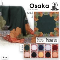 Jilbab segiempat Osaka motif Umama Scarf