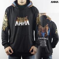 Jaket Sweater Hoodie AHHA Barong Bahan Fleece Tebal
