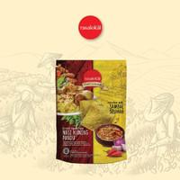 Keripik singkon + Cocolan Sambal rasa Nasi Kuning Pandu
