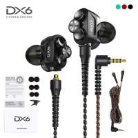 PLEXTONE DX6 HEADSET GAMING PLEXTONE 3 HYBRID DRIVER EARPHONE MIC