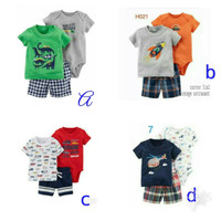 Jumper set original 3in1,setelan jumper carter,jumper carter gift set