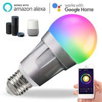 Jckel Lampu Bohlam Smart Bulb LED RGB 7W E27 Lamp LED Pintar