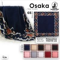 Kerudung Umama/jilbab umama segiempat motif Osaka
