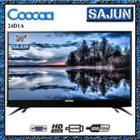 COOCAA TV LED 24D1A 24 INCH PANEL IPS (GARANSI RESMI)