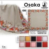 Kerudung Umama/Jilbab Umama/Hijab Segi Empat Motif Osaka