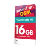 Voucher Data Smartfren Kuota 16GB