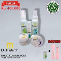 Paket Acne Dr. Melisch 100% Berkualitas Untuk Wajah Berjerawat