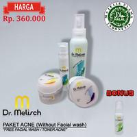 Paket Standard Acne tanpa Facial wash Dr Melisch