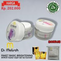 Paket Day & Night Cream Brightening Dr Melisch